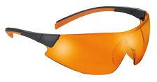 Univet 546 UV525 Protection Orange Lens Cycling Glasses Anti Fog (546.03.42.04)