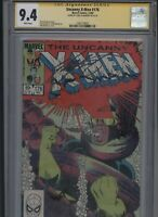 Uncanny X-Men #176 CGC 9.4 SS Chris Claremont 1983 JOHN ROMITA JR.