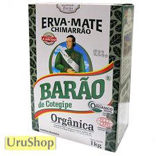 Y238 BARAO ORGANIC BRAZILIAN YERBA MATE FOR BREWING CHIMARRAO ERVA MATE 1KG
