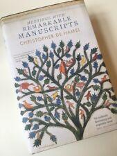 Meetings with Remarkable Manuscripts by Christopher de Hamel (Hardback, 2016)