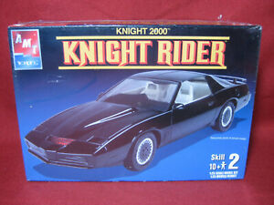Knight Rider KITT Pontiac Trans Am Firebird AMT 1:25 Model Kit Night 31538-1HD