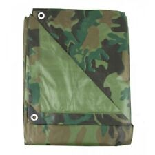 BACHE CAMOUFLAGE MILITAIRE PROTECTION IMPERMEABLE 1.8 X 3 M nature chasse pêche