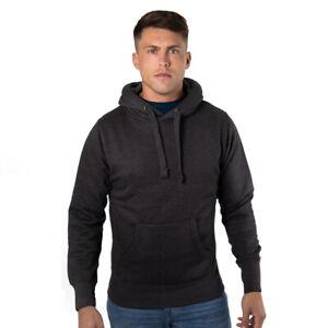 Mens Hoodie Cotton Ridge Ultra Premium Soft Feel with Thumb Hole Cuffs