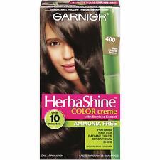 Garnier :: HerbaShine Color Creme w/ Bamboo Extract :: (Dark Natural Brown 400)