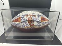 2003 USC Trojans Autograph Signed Team Signed Football national Champions