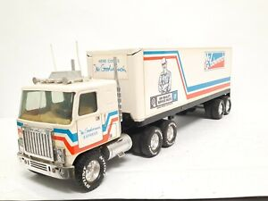 "Vintage Nylint GMC Mr Goodwrench 18 Wheeler Semi Tractor Trailer Truck 21 1/4"" L"