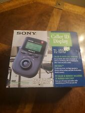 Nice Nos / Nob Sony Model Tl-Id10 Digital Caller Id Display W/ Jog Dial Nib - Us