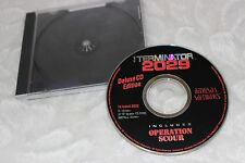 1993 The Terminator: 2029 Deluxe CD Edition CD ROM PC Game for DOS LN