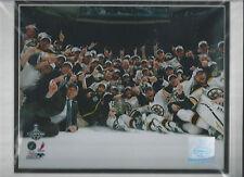 Boston Bruins 2011 Stanley Cup Champions 4-Lot  8X10 Color Photo's 11X14 Mat