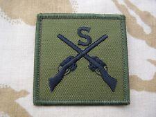 British Army,PARA,SAS,RAF,RM,SBS - Combat Jacket/Shirt SNIPER Sew On Patch/Badge