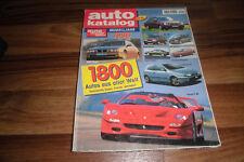 AUTO KATALOG 1996 -- 1800 Modelle aus aller Welt / Betriebskosten - Daten