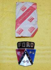 1952-1954 Ford Mainline Customline Crestline Victoria NOS HOOD EMBLEM NAME PLATE
