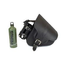 Genuine Leather Saddle Bag Pannier for Harley Davidson Softail Fatboy Breakout