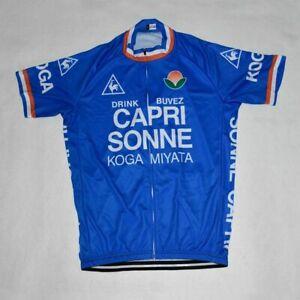 Retro CAPRI SONNE Cycling Jersey Pro Clothing Short Sleeve Bike Bicyle Maillot