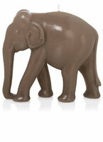 Luxus Design Kerze Elefant 22cm Länge Schlamm Handarbeit Kerzen Wiedemann Neu