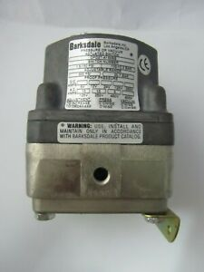 Barksdale DPD2T-A150SS Pressure Switch  1.5-150 psi 0.103-103. bar