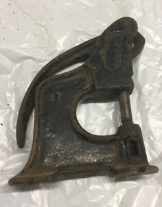 Antique Rex Rivet Tool Cast Iron Number 27