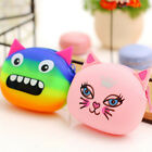 Women Wallet Kawaii Cartoon Animal Silicone Jelly Coin Bag Purse Kids Gift Hot