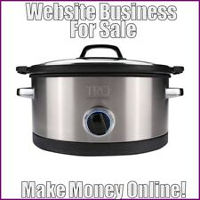 SLOW COOKERS Website Earn $156.41 A SALE|FREE Domain|FREE Hosting|FREE Traffic