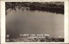Laurens NY Gilbert Lake State Park Real Photo Postcard