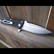 Authentisch Messer ENLAN EL-01A / G10 / 8Cr13MoV / Liner-Lock / Schwarz