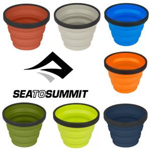 Sea to Summit X Cup - 250ml / 8.3floz - Folds Flat and Lightweight