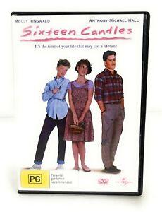 Sixteen Candles Molly Ringwald  (DVD, 1984) Pal Region 4 🇦🇺 Free Postage