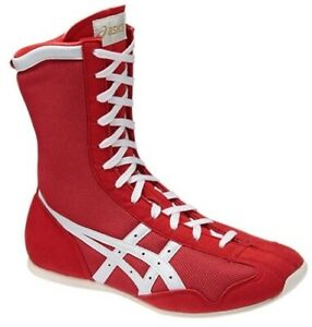 ASICS BOXING Shoes MS TBX704 Red white Japan unisex NEW