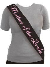 Hen Night Black Pink Mother Of The Bride Sash Bride Accessories Wedding Ladies