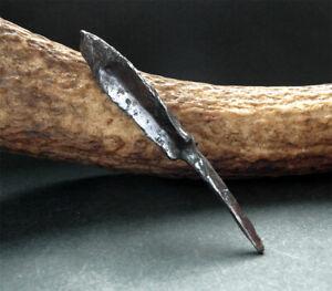 Genuine Medieval 3 sided iron arrowhead