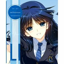 2001-2013 Leaf Illustrations TAKESHI NAKAMURA EDITION illustration book