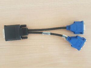 Molex 687730005 DMS-59 auf Dual VGA Y-Splitter Kabel 338285-008