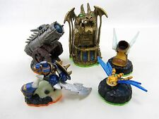 5 Lot Skylanders  Dragon's Peak, Dragonfire Cannon, Winged Boot, Sparx Dragonfly