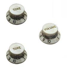 Hosco Tone/Volume Control Knob Relic White KRW-240TI/KRW-240VI