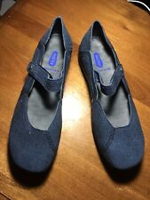 Wolky Blue Gila Leather Mary Jane Size 40 NIB