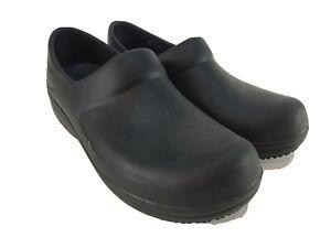 Crocs Neria Pro II Women's Size 11 Work Nursing Clogs Black