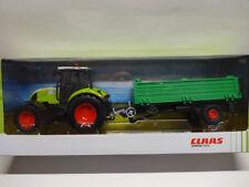 Herpa 84184018 CLAAS ARION 540 Traktor mit Hänger Tecker Anhänger 1:32 Neu