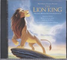 The Lion King  Soundtrack CD Taiwan