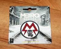 Metro Exodus Very Rare Pin Badge Spartan Logo Pin PS4 Xbox One Collectible
