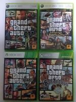 Grand Theft Auto games (Microsoft xbox 360) Xbox 360 Tested