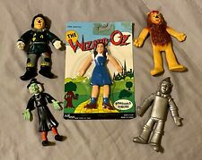 The Wizard of Oz Bendable Figure JusToys Complete Set 1989 Turner Entertainment!