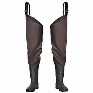 OXYVAN Hip Waders Lightweight Fishing Waders for Women with Boots 2-Ply PVC/N...