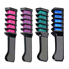 New Semi Permanent Hair Color With Comb Temporary Hair Mascara Multicolor Dye