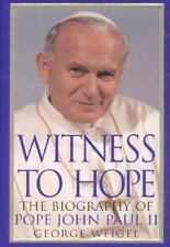 Witness to Hope Biography of Pope John Paul II by George Weigel HB Religion Book