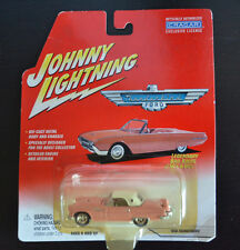 Johnny Lightning 1956 Thunderbird Ford Pink