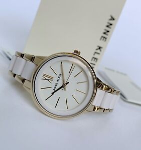 Anne Klein Watch * 1412IVGB Ivory and Gold for Women COD PayPal Ivanandsophia