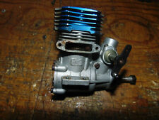 OS MAX 50 SX-H HYPER HELI ENGINE & MUFFLER RUNS WELL LIGHTLY OIL STAINED