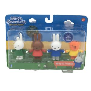 Miffys Adventures Big and Small Multi Figure Friend Pack Dan Melanie Miffy Grunt