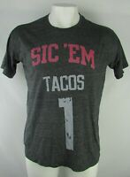 "Georgia Bulldogs Men's ""Sic' Em Tacos #1"" Graphic T-Shirt NCAA"