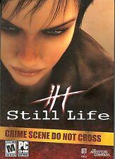 STILL LIFE PC Game CD-ROM Adventure NEW
